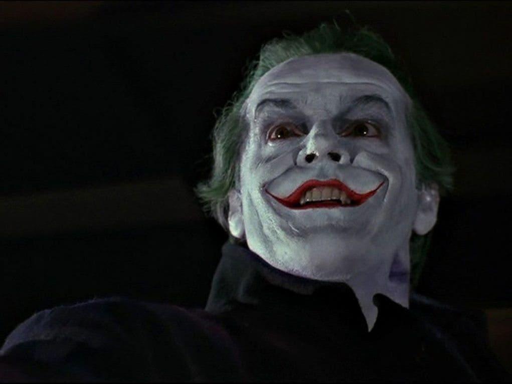 El gran Jack Nicholson interpretó al Joker