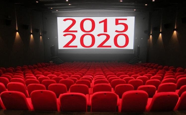 Próximos estrenos 2015 - 2020