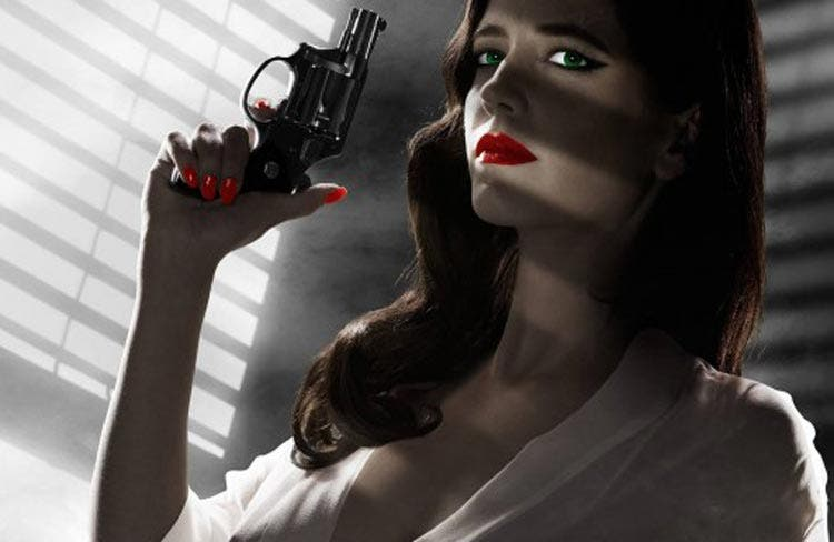 Pósters de cine Sin City 2 a dame to kill for