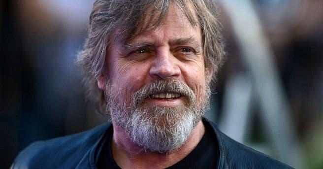 Mark Hamill da vida a Luke Skywalker en la saga Star Wars