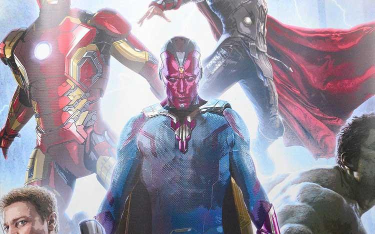 Visión en Los Vengadores 2