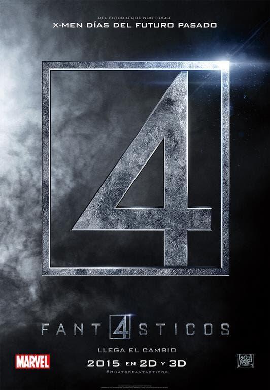 Teaser póster de Los Cuatro Fantásticos
