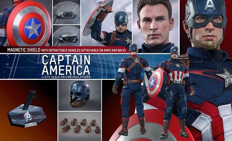 Capitán América Vengadores La era de Ultron