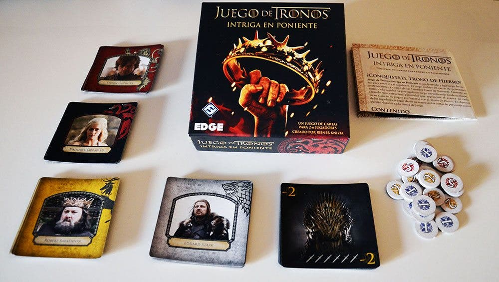 Juego de cartas de 'Juegos de Tronos: Intriga en poniente'