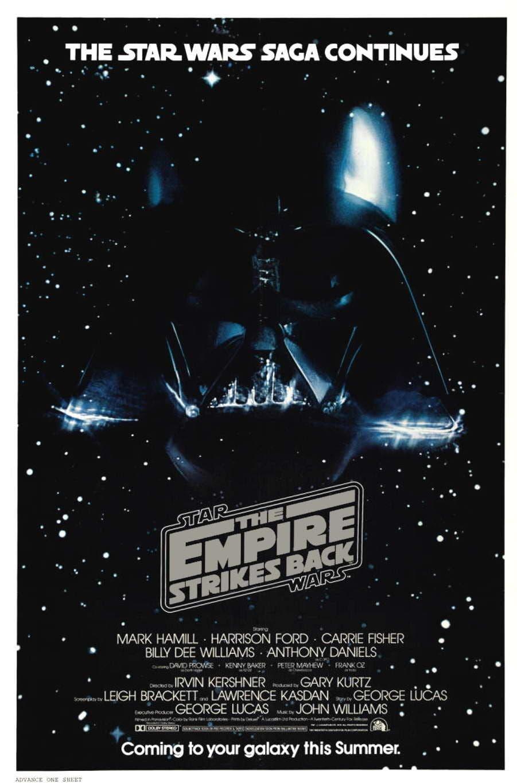 Cartel de 'El imperio contraataca'
