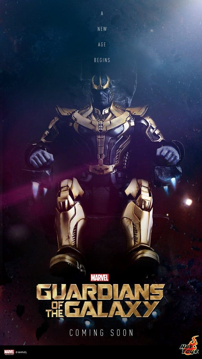 Figura de thanos de Hot Toys