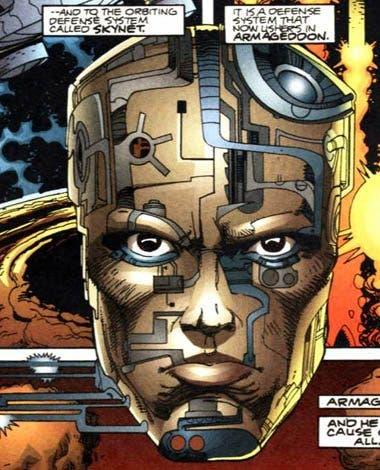 Imagen del cómic 'RoboCop versus Terminator'