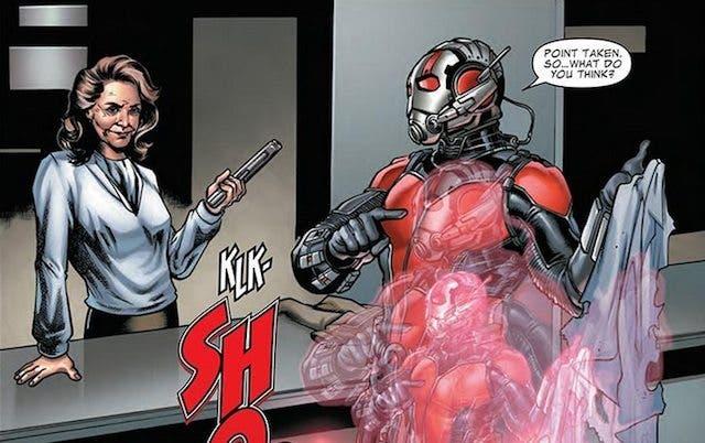Peggy Carter en Ant Man Precuela