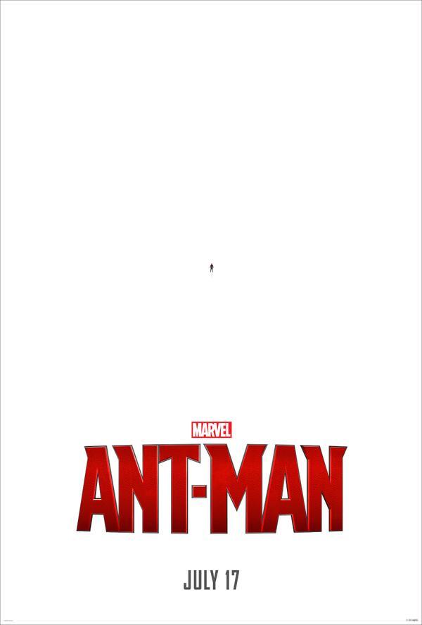 Primer poster oficial de Ant-man