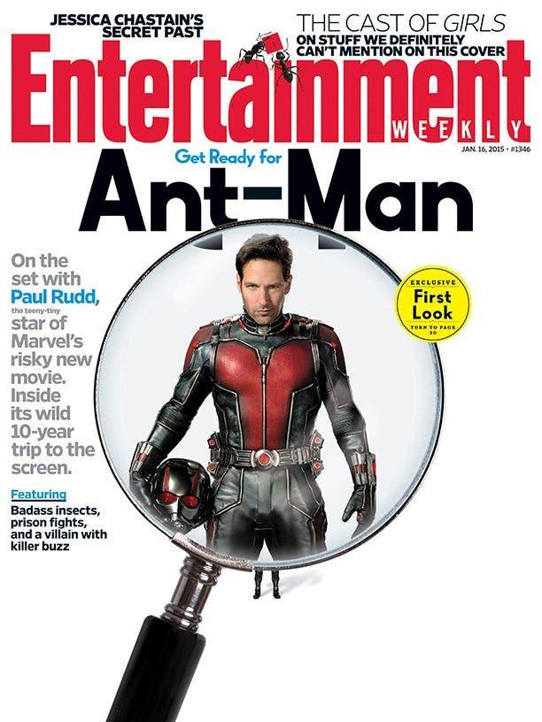 Primera imagen oficial de Paul Rudd como Ant-man