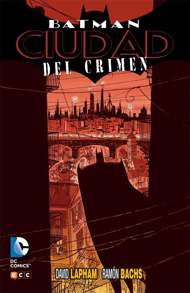 Portada del tomo 'Batman. Ciudad del crimen'