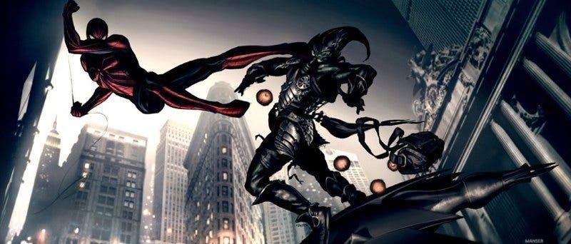concept art Spider-man 2-10