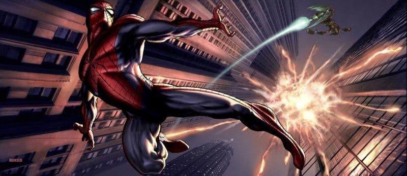 concept art Spider-man 2-11