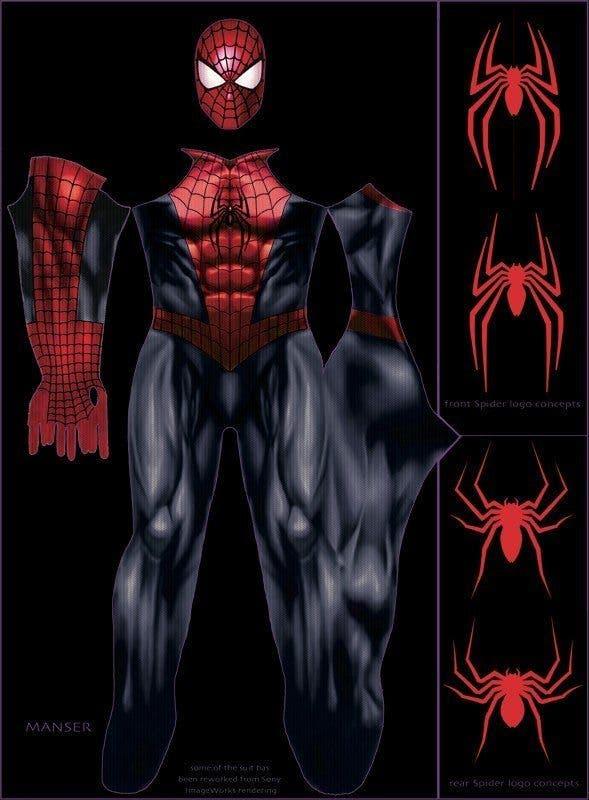 concept art Spider-man 2-17