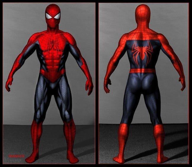 The Amazing Spider-man 3 concept art Spider-man 2-18