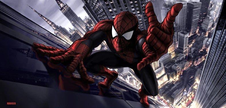 concept art Spider-man