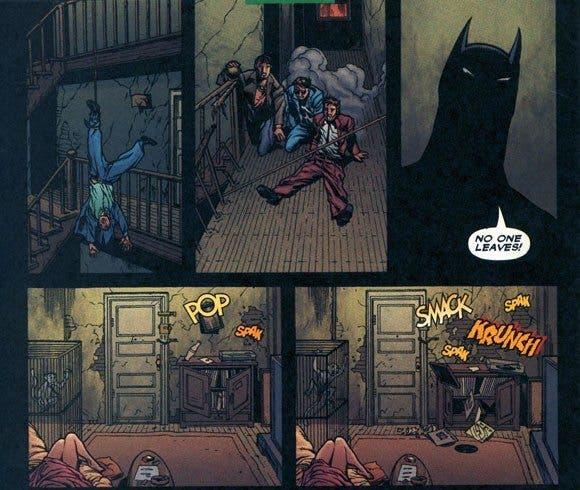 Página de 'Batman. Ciudad del crimen'