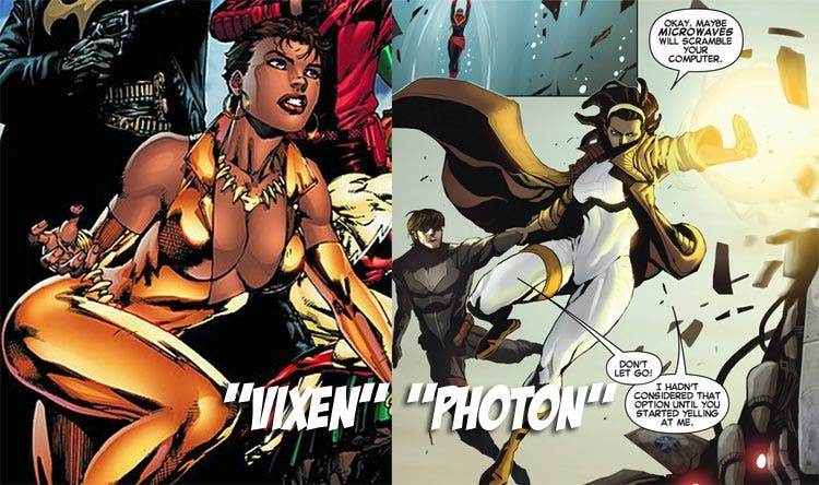 Vixen vs Photon