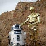 La pareja robótica compuesta por RD-D2 y C-3PO