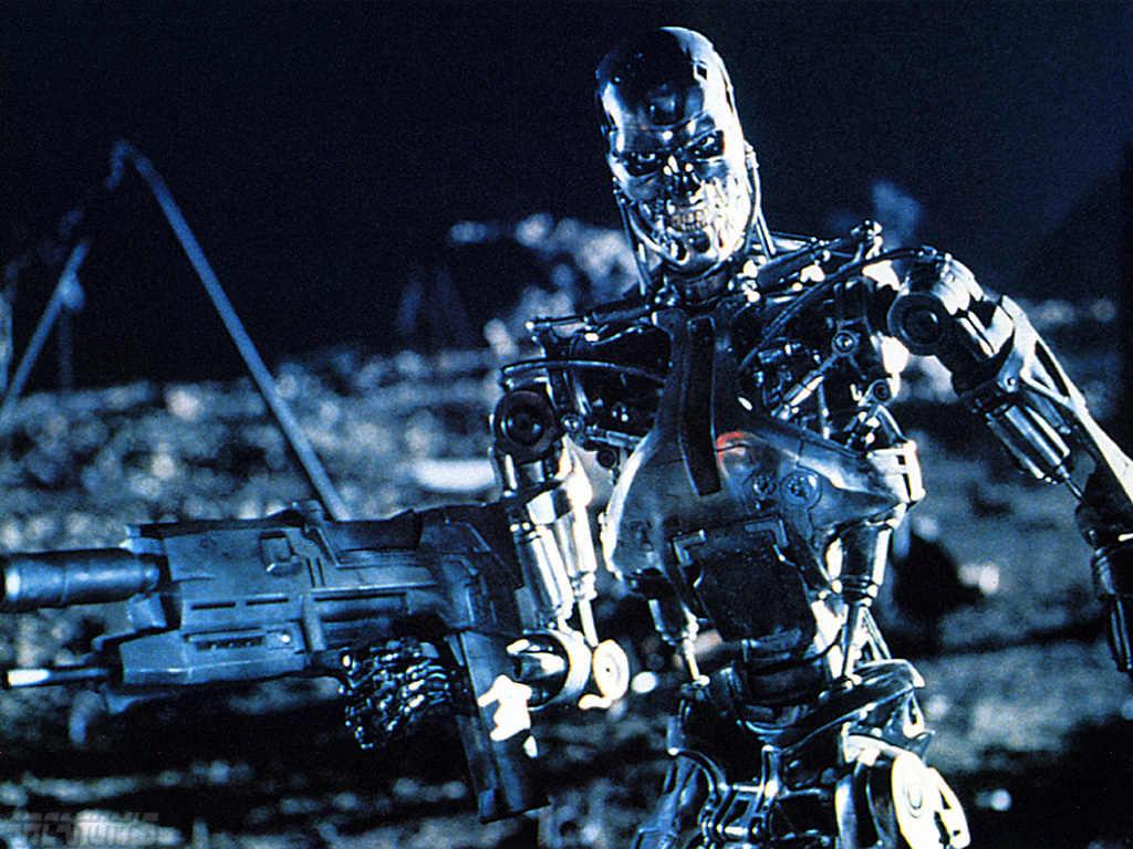 Un T-800 del futuro robots