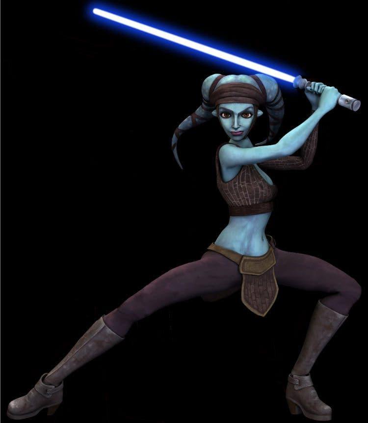 Maestro Jedi Aayla Secura