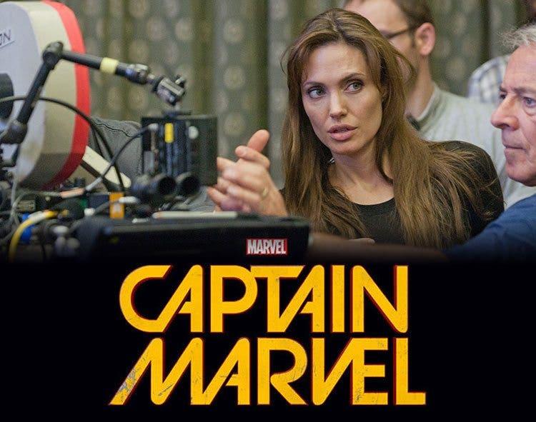 Angelina Jolie Capitán Marvel