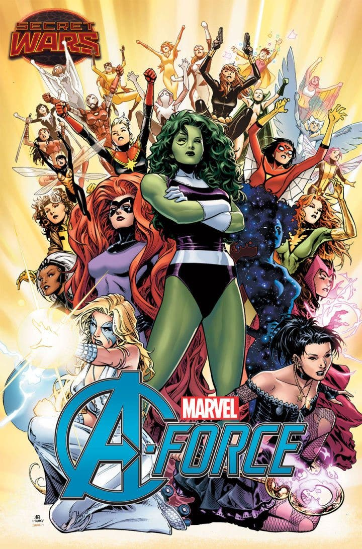 Marvel sacará un cómic protagonizado solo por mujeres