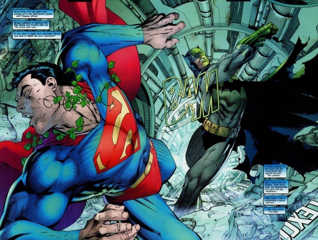 En el cómic, Batman se enfrenta a Superman