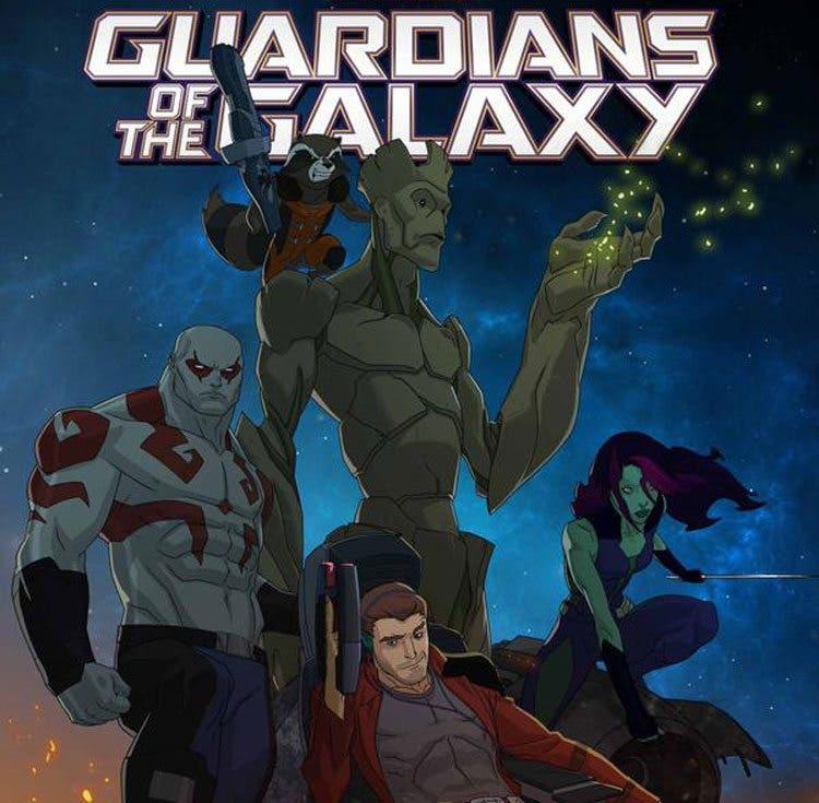 Guardianes de la Galaxia - La serie animada (Netflix)
