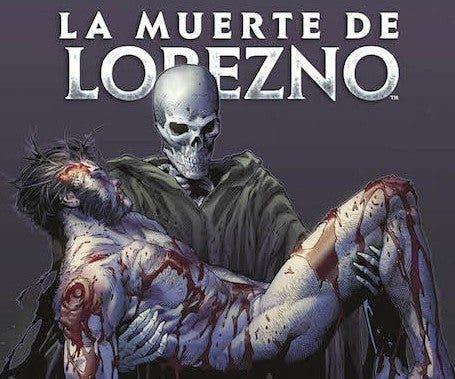 Portada de 'La muerte de Lobezno' superhéroes