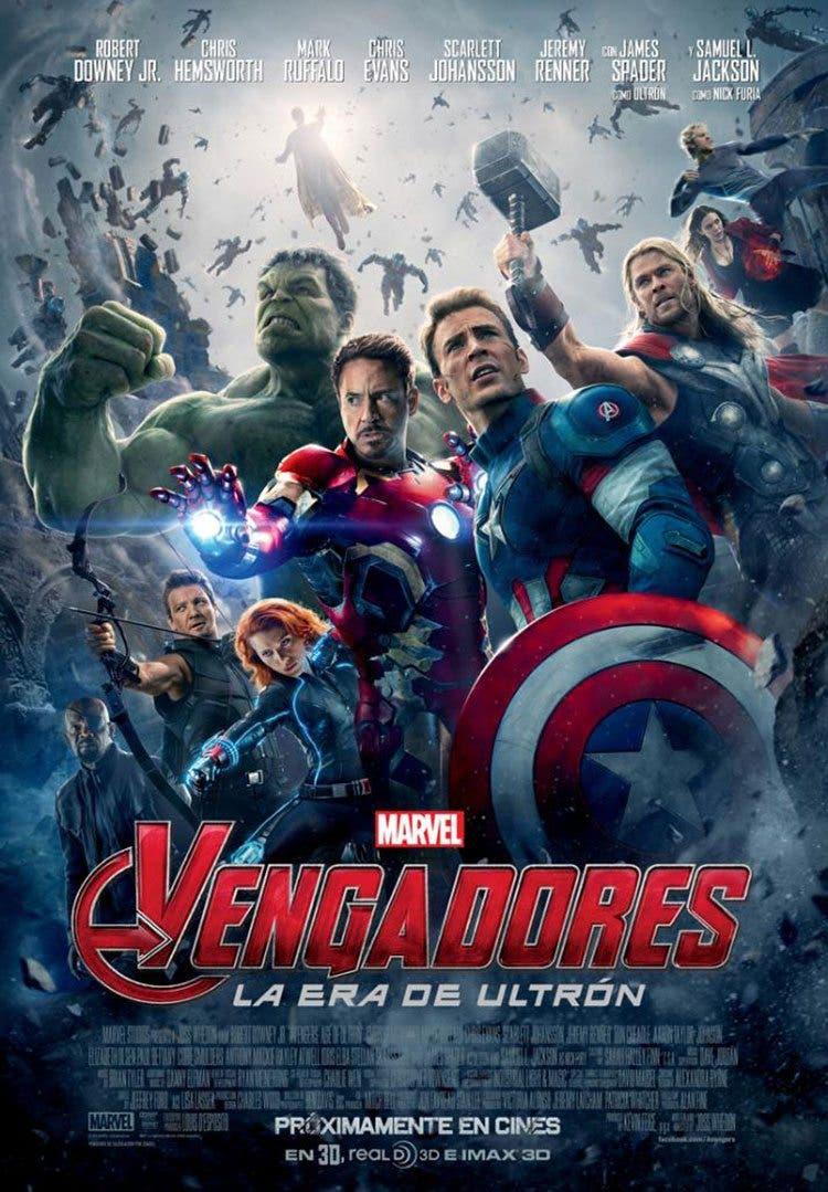 EL CAMINO HACIA VENGADORES: INFINITY WAR: Vengadores: La era de Ultrón (2015)