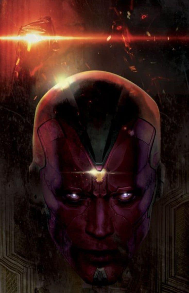 Vision Vengadores: La era de Ultron