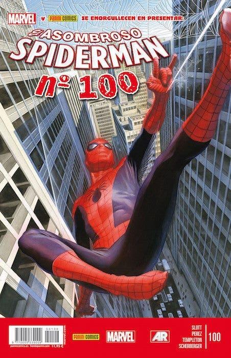 Portada del número 100 de 'El asombroso Spiderman'