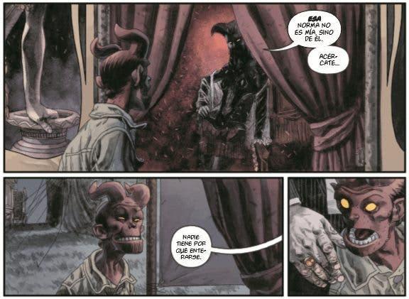 El joven Hellboy descubre un nuevo mundo en esta historia de Mignola