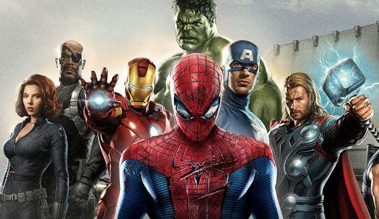 Spider-man en Vengadores: La era de Ultrón
