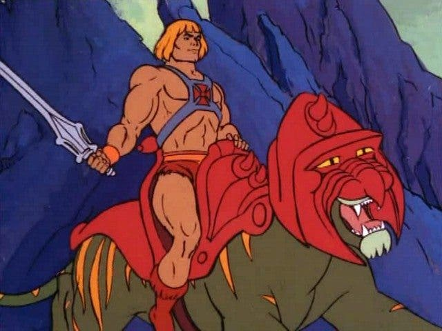 Battle Cat Masters of the Universe