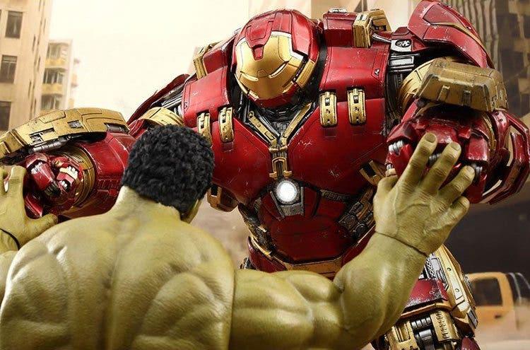 Hulk vs hulk buster de Hot Toys