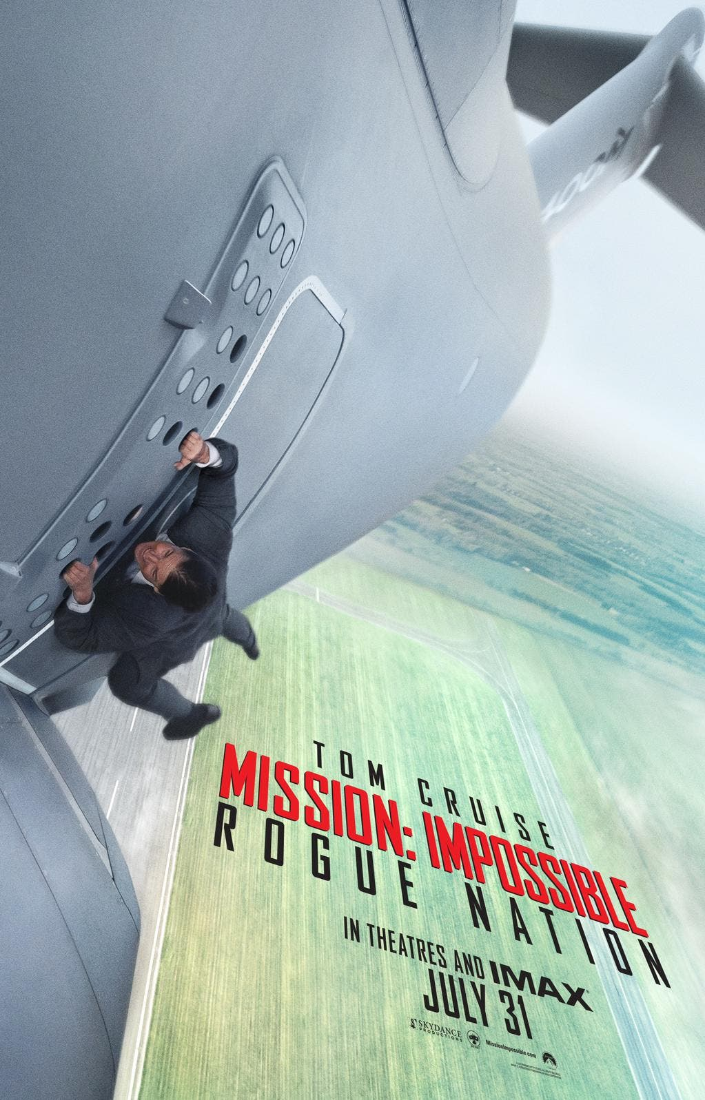 póster 'Misión imposible: Nación secreta'