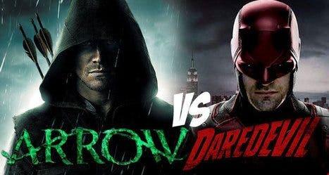 Daredevil vs Arrow