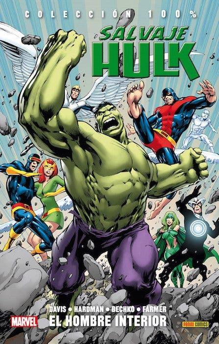 Portada de Hulk El hombre interior