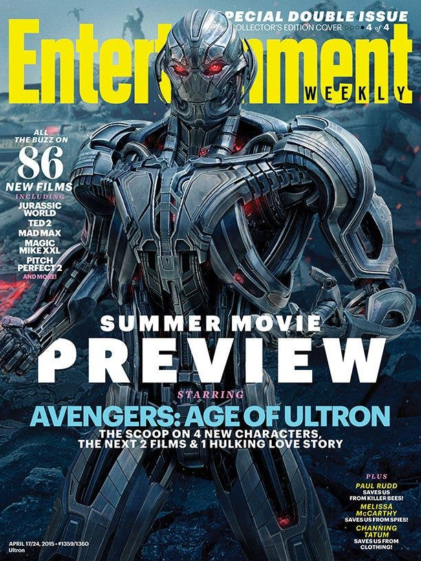 La era de Ultrón cover 4 EW