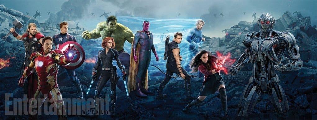 Mega banner Vengadores La era de Ultrón