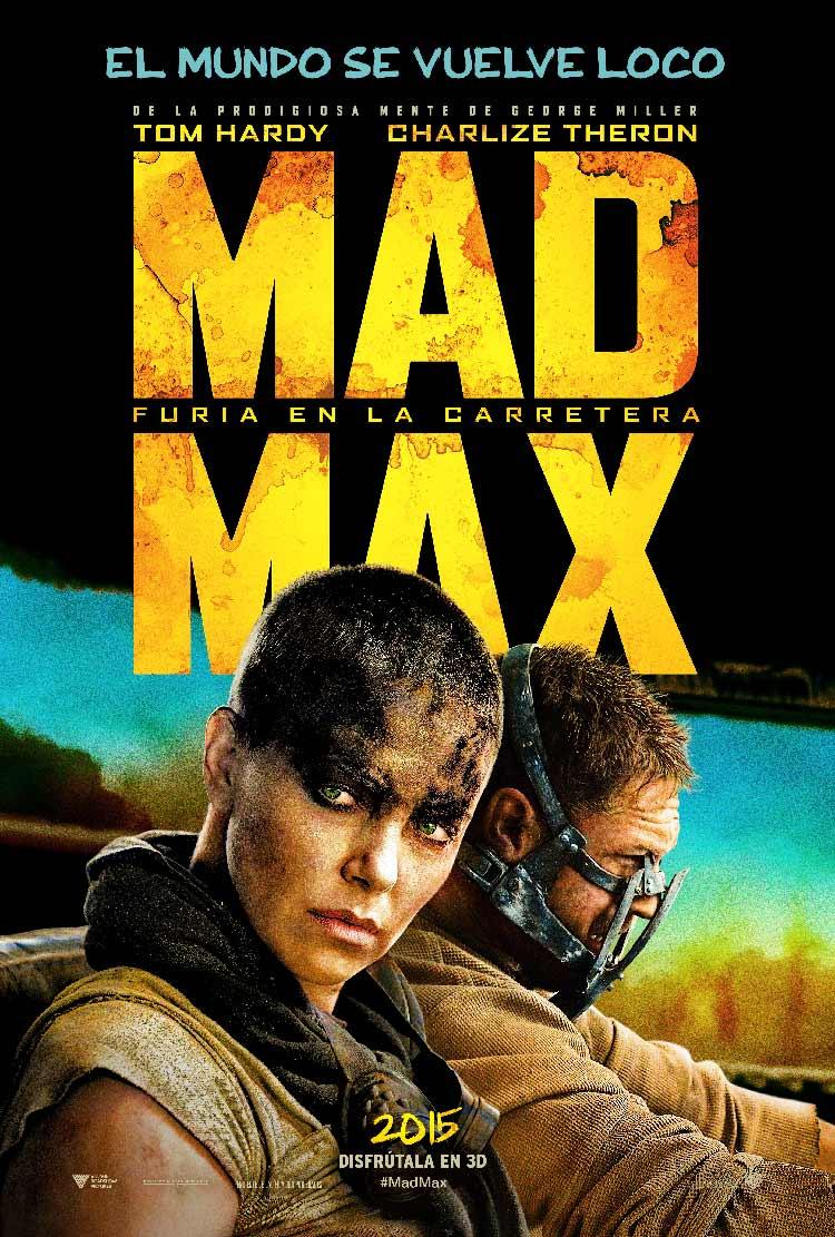 Póster español de Mad Max: Furia en la carretera