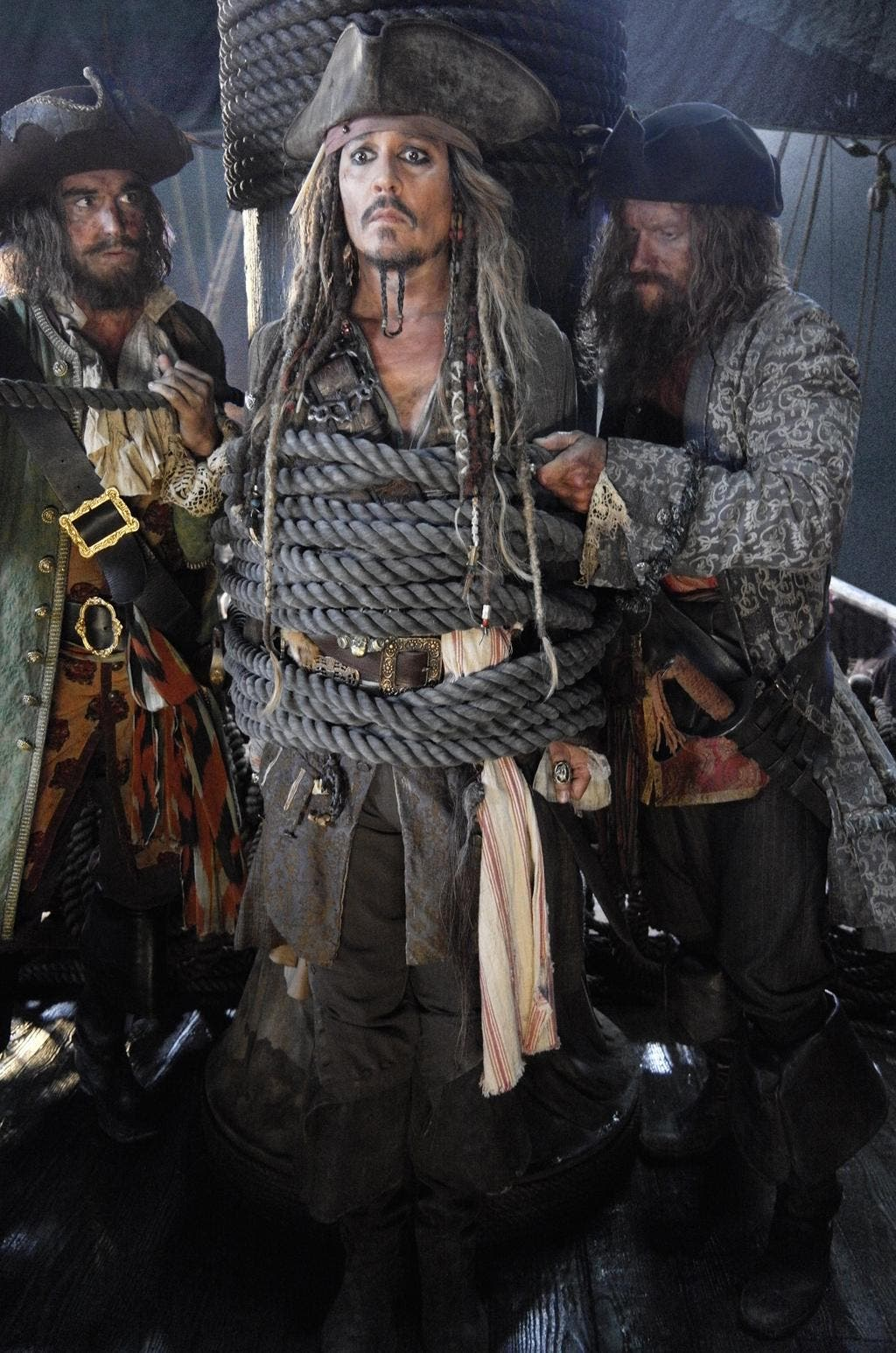 Primera imagen oficial de Jack Sparrow Piratas del caribe 5