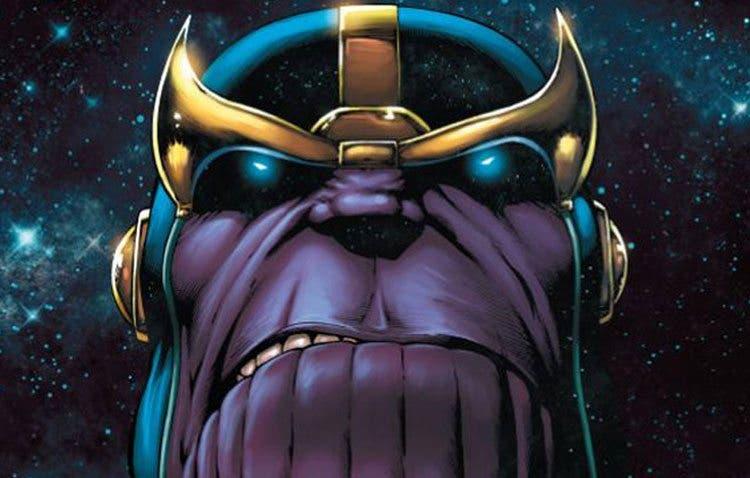 Thanos La Revelación del infinito de Jim Starlin