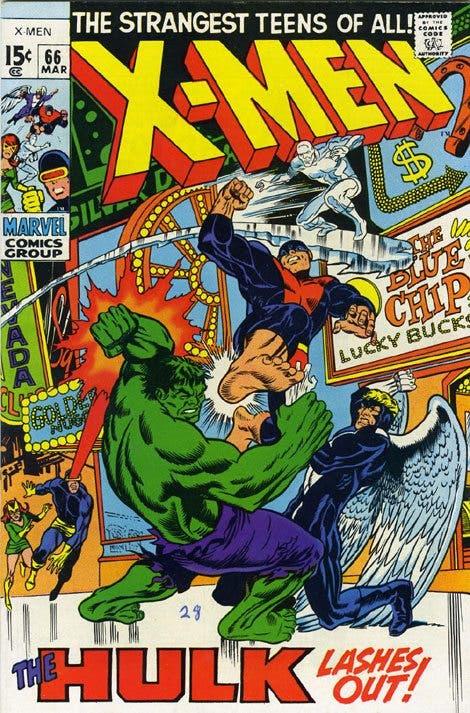 Portada de 'X-Men' 66 USA