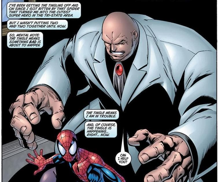 kingpin spider-man