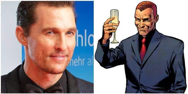 Matthew McConaughey podría ser Norman Osborn