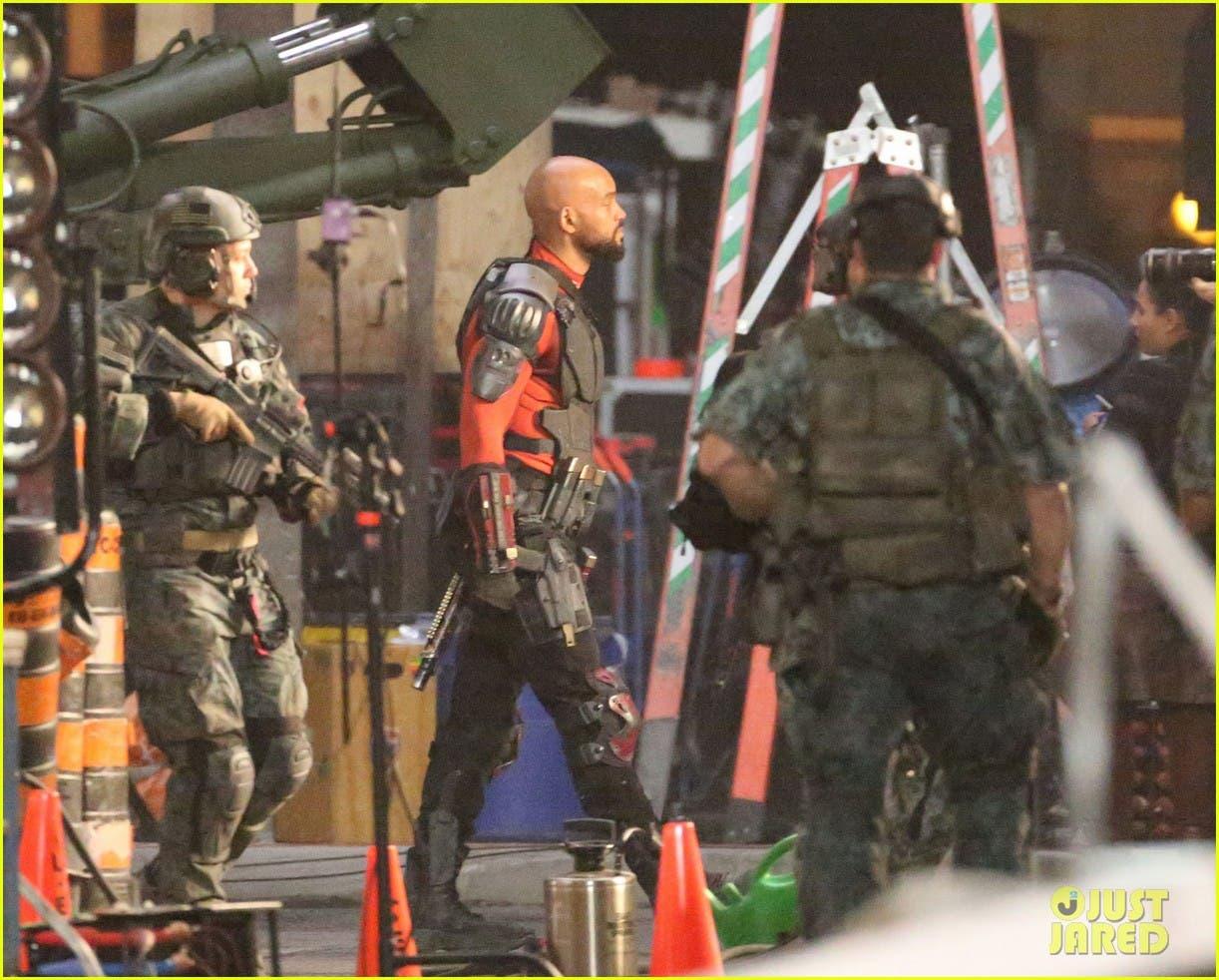 Will Smith es DeathShot Escuadrón suicida