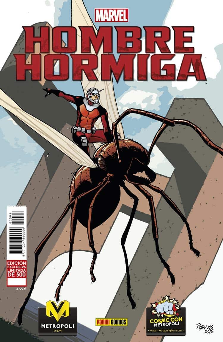 Ant-man HombreHormiga_Panini